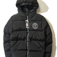 High Quality Unisex AAPE Thicken Cotton Zippers Jacket [9556168391]