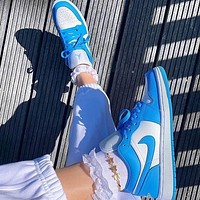 Nike sb dunk low pro Air force 1 Hot sale classic color matching low-top casual shoes sports shoes sneakers