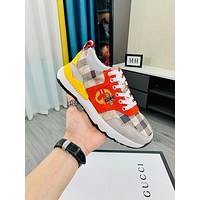 Gucci 2021Men Fashion Boots fashionable Casual leather Breathable Sneakers Running Shoes09070gh