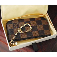 Louis Vuitton LV Monogram Canvas Key Case