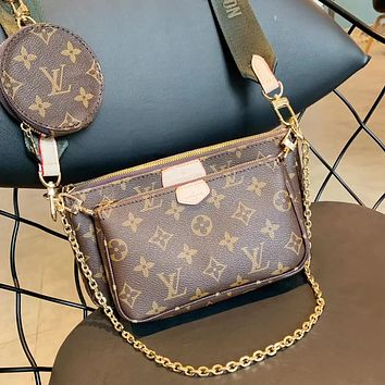 Louis Vuitton LV Crossbody Shoulder Bag Set