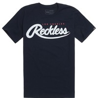 Young & Reckless Rawlins T-Shirt - Mens Tee - Blue