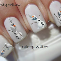 Disney Frozen Olaf Nail Decals