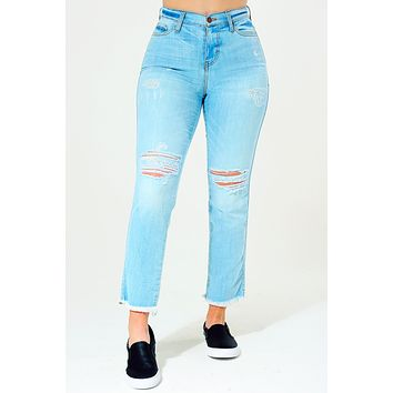 Planned For This Jeans: Light Denim