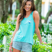 Slouchy Scoop Neck Tank