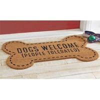 Mud Pie Dogs Welcome Mat