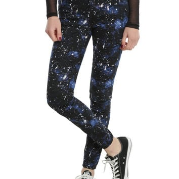 Blackheart Blue Galaxy Super Skinny Jeans