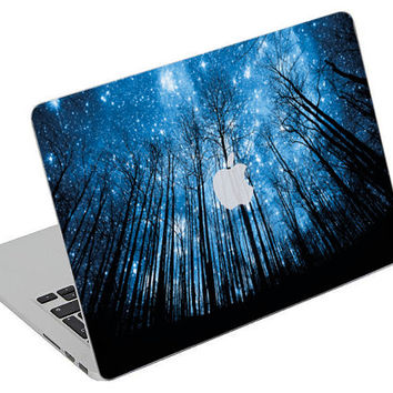 Stickers Macbook Decal Skin Macbook Air Skin Pro Skins Retina Cover Galaxy Trees Hipster SWAG  Picture Christmas Gift New Year ( rm25)