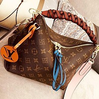LV Louis Vuitton Beaubourg Hobo Women Shopping Bag Leather Handbag Tote Satchel Crossbody Shoulder Bag