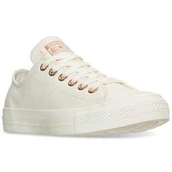 Converse Women's Chuck Taylor Pastel Leather Ox Casual Sneakers from Finish Line   macys.com