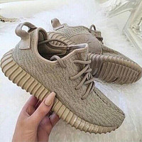 Adidas Yeezy Boost Fashion Women Running Breathable Sneakers Sport Shoes
