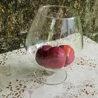 Giant Clear Glass Brandy Snifter 10 Inch  Large Size