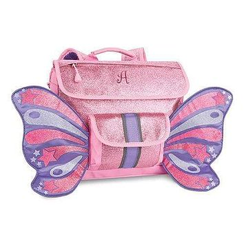 Small Personalized Kids Glitter Backpack - Pink (Pack of 1)