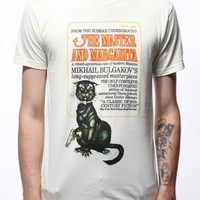 Out of Print The Master and Margarita Book Men's Vintage Inspired T-Shirt