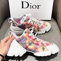 DIOR Fashion New Women Multicolor Sports Leisure Running Shoes