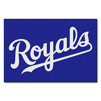 Kansas City Royals 1 Baseball Custom Personalized Washable Area Rug and Door Mat (16x24inch) for Decorative Indoor Outdoor