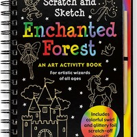 Scratch and Sketch Enchanted Forest Scratch and Sketch SPI