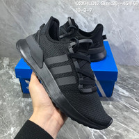 HCXX 19July 201 Adidas Yeezy RUNING III Retro Running Shoes all black