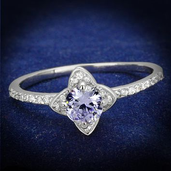 Sterling Silver Rings For Women TS432 Rhodium 925 Sterling Silver Ring