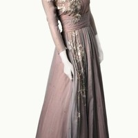 Grace Kelly Inspired Chiffon Dress, ethereal and wonderful, old hollywood, vintage style, elegant and chic