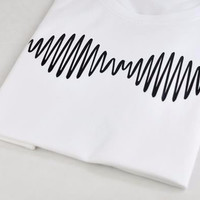 Arctic Monkeys Women's Casual White T-Shirt