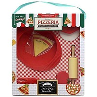 Handstand Kitchen Authentic Pizzeria 9-piece Pizza Making Set for Kids