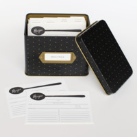 Polka Dot Recipe Box by RIFLE PAPER Co. | Imported