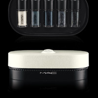M·A·C Cosmetics   Products > Eye Kits and Palettes > Objects of Affection/Silver + Blue Pigments + Glitter