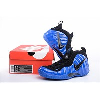 Nike Air Foamposite One Royal Blue/Black Sneaker Size US5.5-13