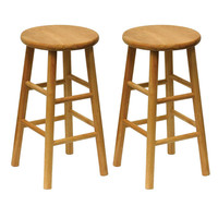 Wooden Stools - Easy Home Concepts