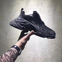 BALENCIAGA TRIPLE-S SNEAKER DAD SHOE BLACK