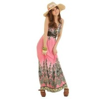 Wisedeal 2013 Fashion Sexy Evening Summer Maxi Long Dresses, One Size