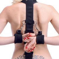 Neoprene Collar to Wrist Restraint Strap