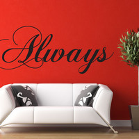 Always - Harry Potter Wall Decal