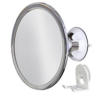 No Fog Shower Mirror with Rotating, Locking Suction; Bonus Separate Razor Holder   Next Step in Shaving Mirror Technology   Adjustable Arm for Easy Positioning   Best Personal Mirror for Shaving You Will Ever Buy! Ideal Travel Mirror