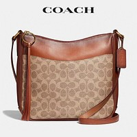 COACH Retro Women Shopping Bag Leather Bucket Bag Crossbody Satchel Shoulder Bag