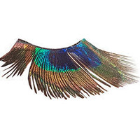 Buy 2 get 1 FREE Peacock Eye Feather False by CatsMeow1940 on Etsy