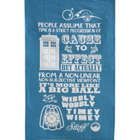 Doctor Who Timey Wimey Tea Towel Set