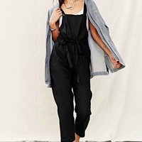 Mixed Business Linen Overall- Black
