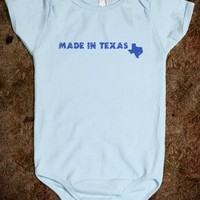Made In Texas Baby One Piece (boy) - raineon