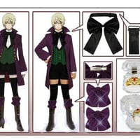 Alois Trancy Cosplay Costume from Black Butler Costume