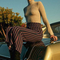 UO Printed Cropped Kick Flare Pant   Urban Outfitters