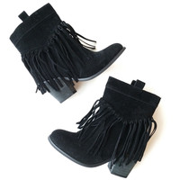 Ranch Fringe Bootie