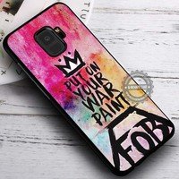 Colorful Oil Put On Your Paint Fall Out Boy iPhone X 8 7 Plus 6s Cases Samsung Galaxy S9 S8 Plus S7 edge NOTE 8 Covers #SamsungS9 #iphoneX