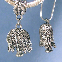 Weeping Willow Tree Silver Charms Pandora Chamilia Zable Troll or Traditional Styles