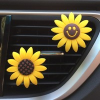 Sunflower Vent Clip Car Air Freshener