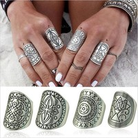 With Gift Box Gift Shiny Jewelry New Arrival Stylish Vintage Totem Bohemia Ring [9659225290]