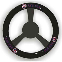 Boston Red Sox MLB Leather Steering Wheel Cover