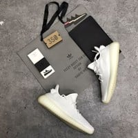 100% exact original adidas Yeezy 350v2 Real Boost with all sets