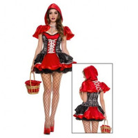 Red Halloween Dress Costume
